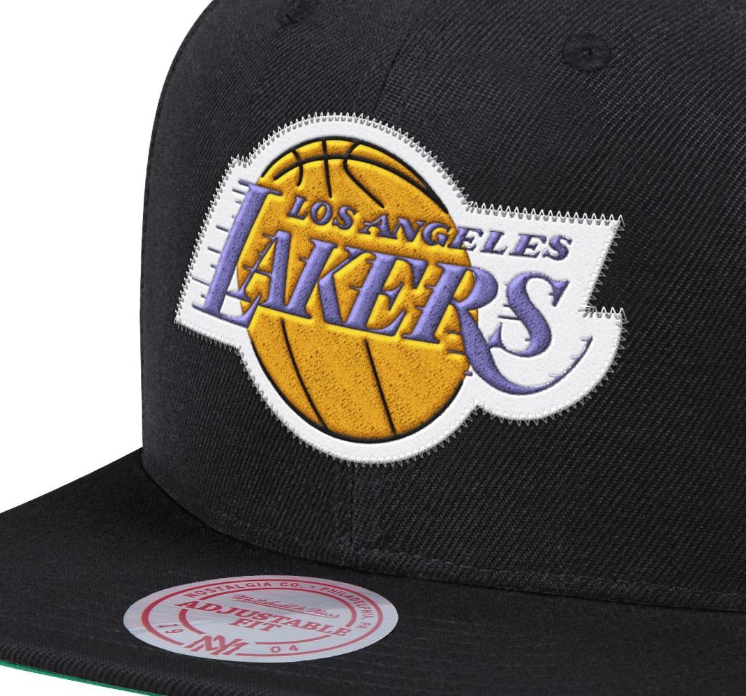 NBA TEAM ZIG ZAG SNAPBACK HWC LAKERS