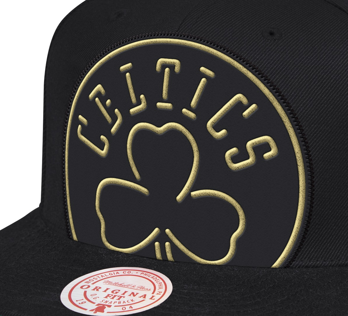 NBA CROP NEON XL  SNAPBACK CELTICS