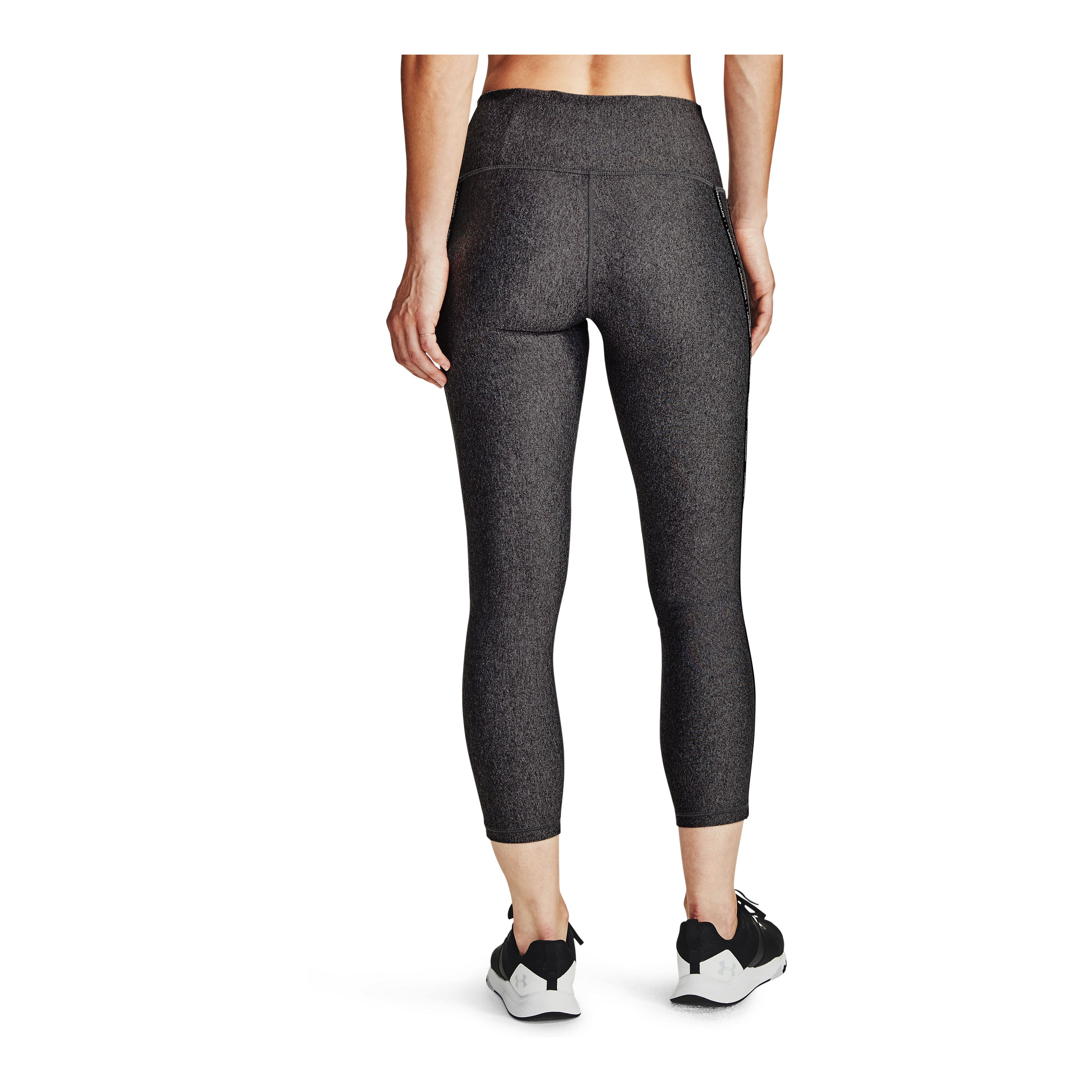 Calza Mujer Under Armour Hg Wmt Ankle Crop Gris