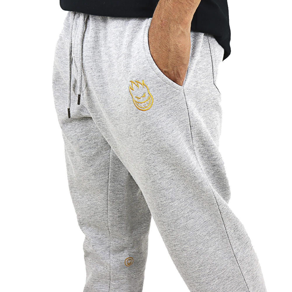 PANTALON DE BUZO JOGGER SPITFIRE J10 LIGHT GRAY