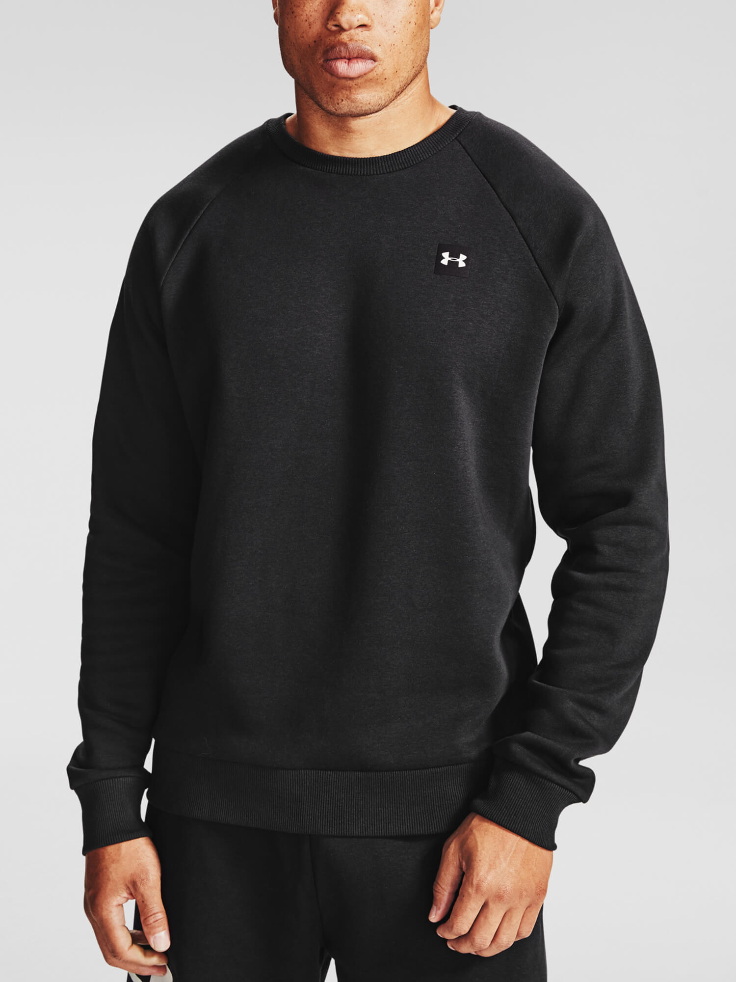 POLERON HOMBRE UNDER ARMOUR RIVAL FLEECE NEGRO