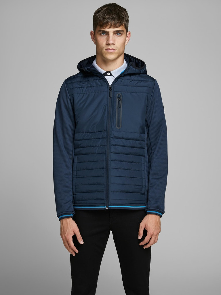 CHAQUETA HOMBRE JACK AND JONES JCOTRIPPLE AZUL