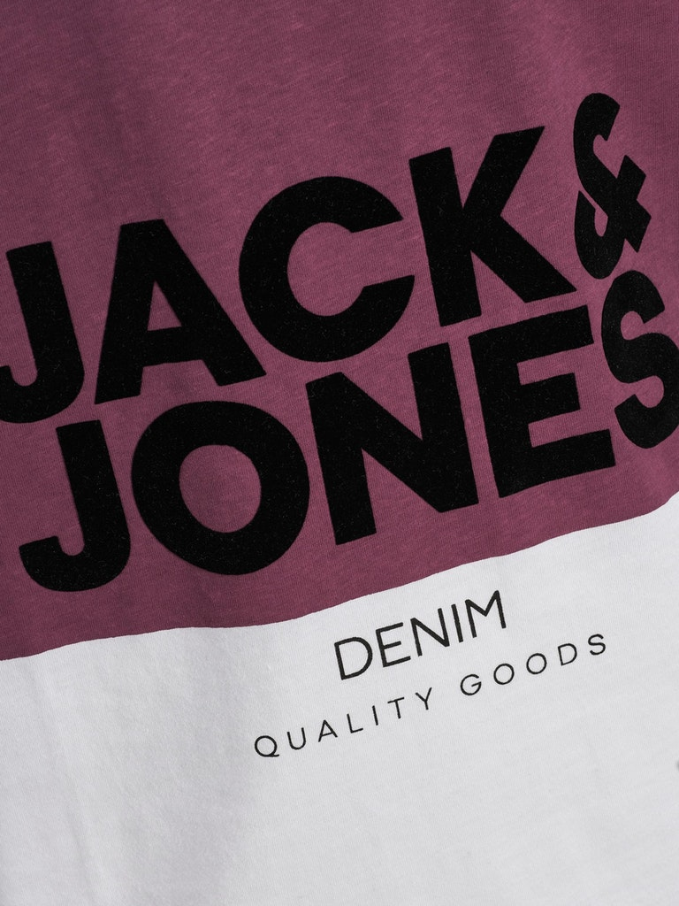 POLERA HOMBRE JACK AND JONES JJFRAME BLANCO