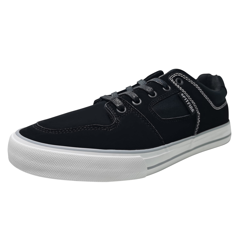 Zapatillas de Hombre Spitfire Lasser Flip Negro- Blanco