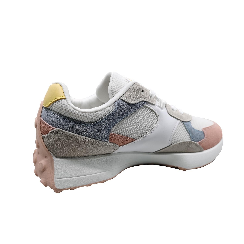 Zapatillas de Mujer 90´s Classic Greek Rosado-Blanco