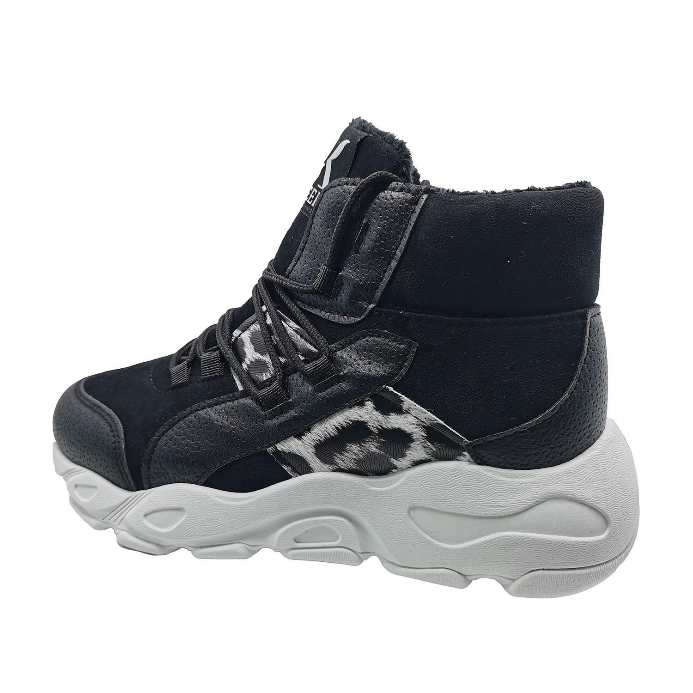 Zapatillas de Mujer Caña Alta Emotion Greek Negro