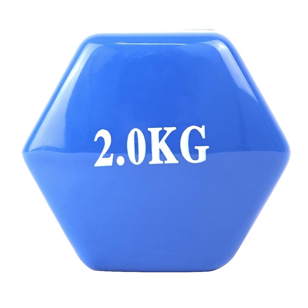 Vinyl Coated dumbbell 2kg UNIDAD