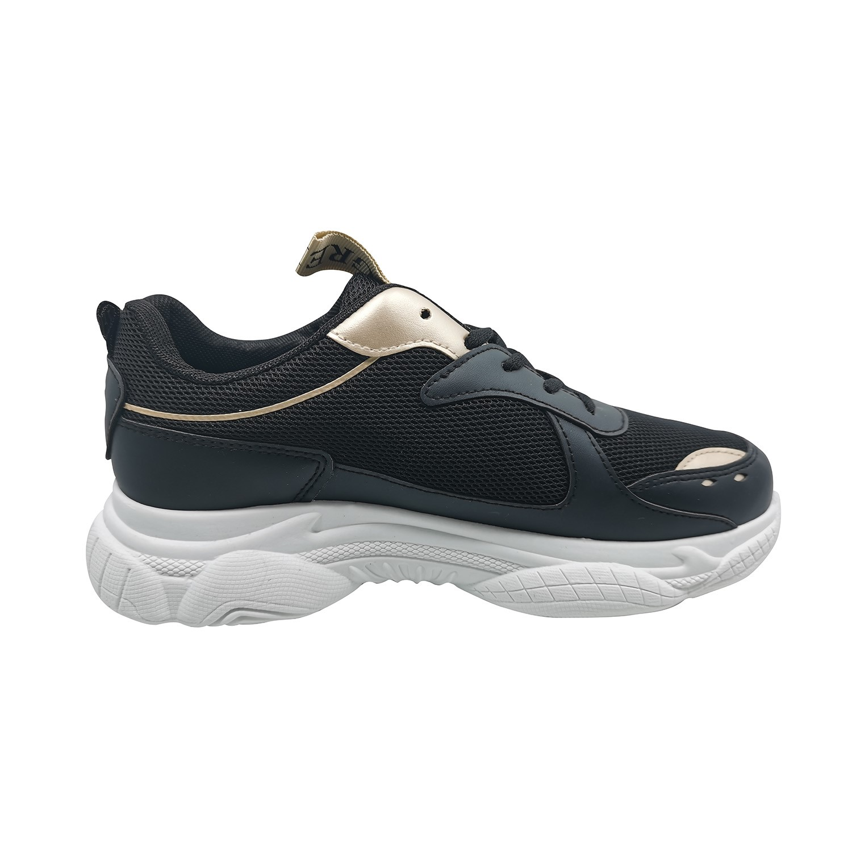 Zapatillas de Mujer Style Supreme Greek Negro-Blanco