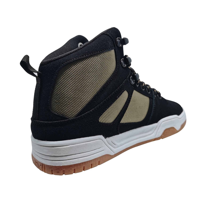 Zapatillas de Hombre Snow Flame Spitfire Negro-Beige