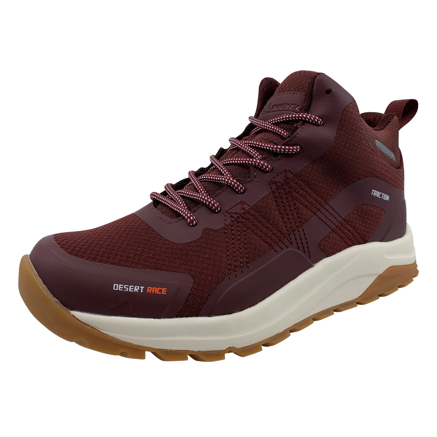 Zapatillas de Hombre Desert Race Michelin Footwear Waterproof Burdeo