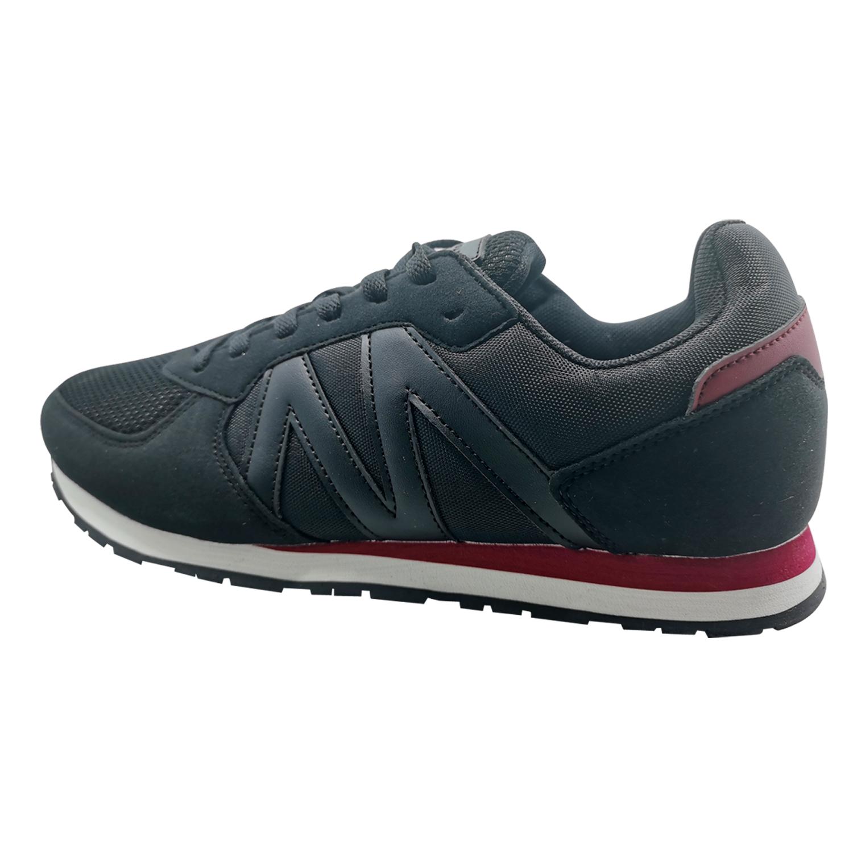 Zapatillas de Hombre Michelin Footwear Cyclo Cross Negro-Rojo