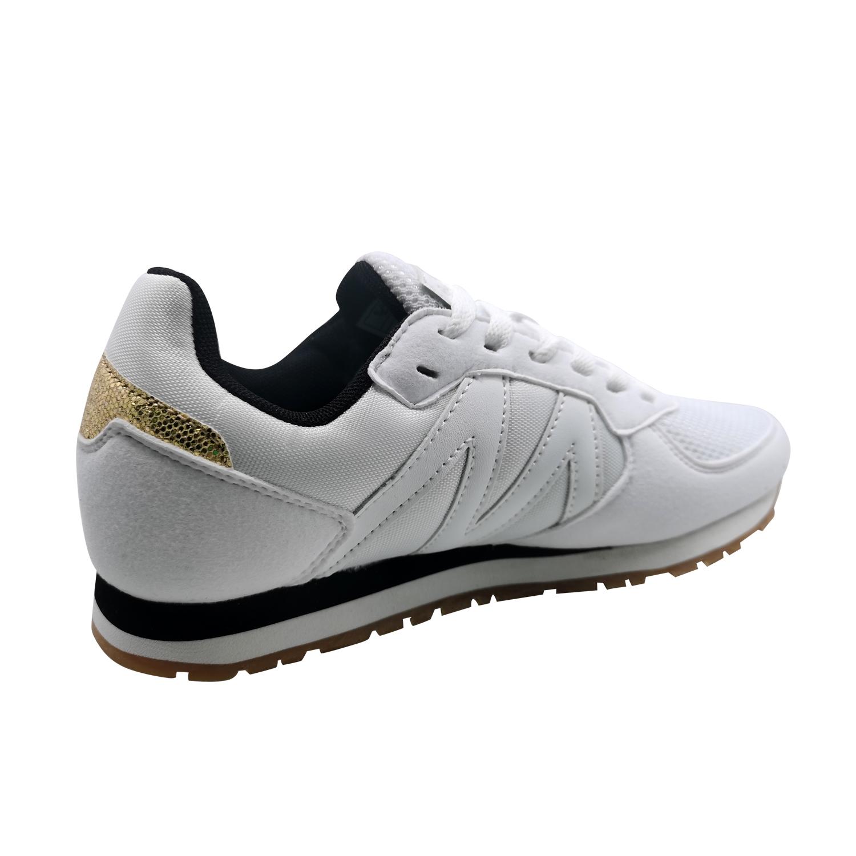 Zapatillas de Mujer Michelin Footwear Cyclo Cross Blanco-Negro