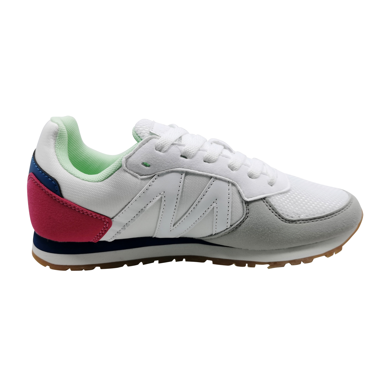Zapatillas de Mujer Michelin Footwear Cyclo Cross Blanco-Fucsia