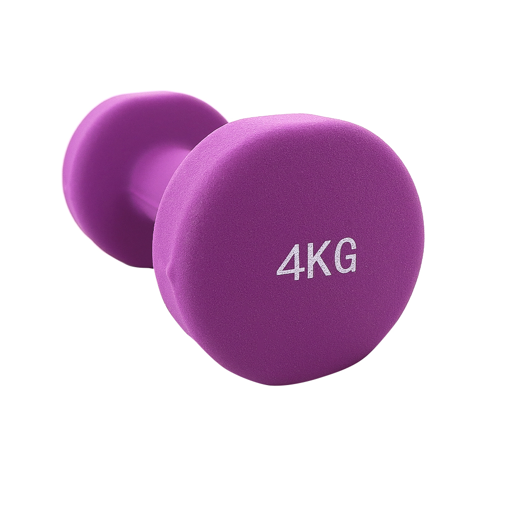 PAR MANCUERNA NEOPRENO ECO FRIENDLY JKS 2x4KG MORADO