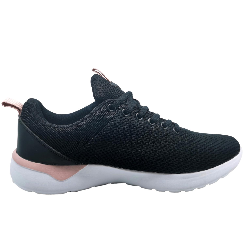 Zapatillas de Mujer Impel Pro Foam Jks Negro-Rosado