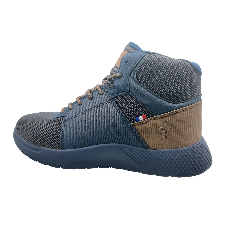 Zapatillas de Hombre Michelin Footwear Country Rock Caña Alta Azul