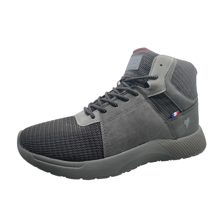 Zapatillas de Hombre Michelin Footwear Country Rock Caña Alta Gris Oscuro