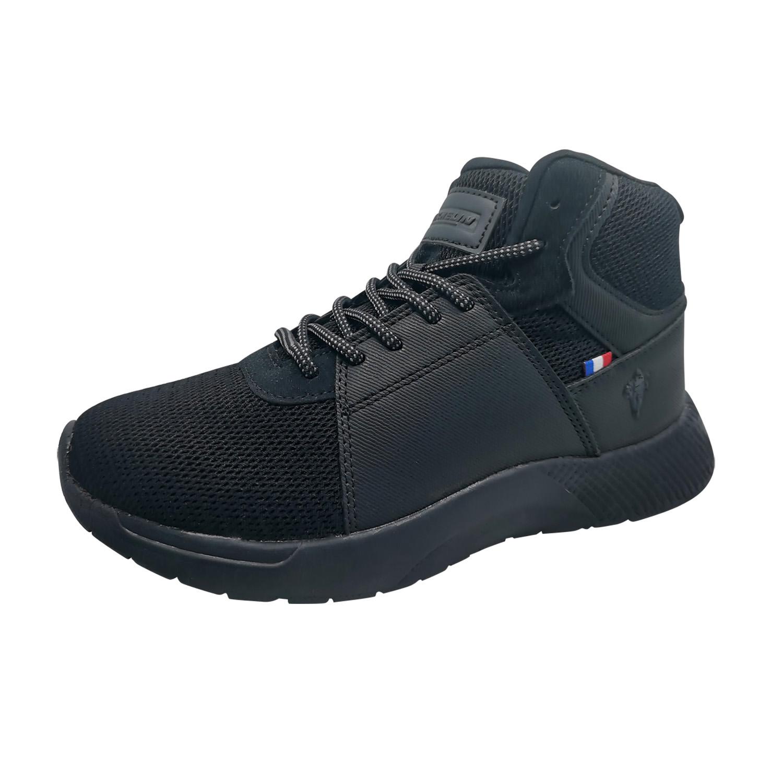Zapatillas de Mujer Michelin Footwear Country Rock Caña Alta Negro-Negro