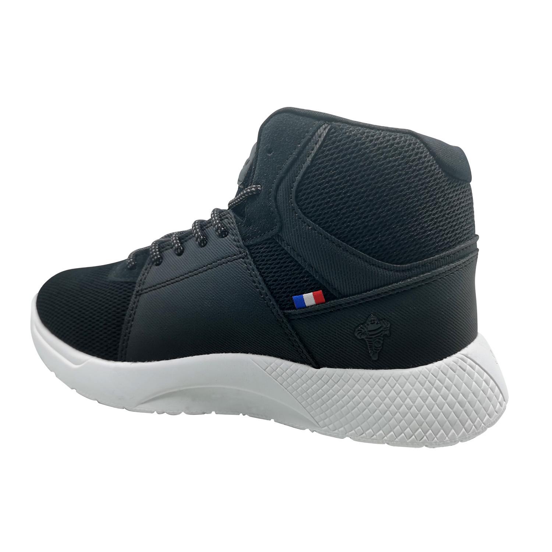 Zapatillas de Mujer Michelin Footwear Country Rock Caña Alta Negro-Blanco