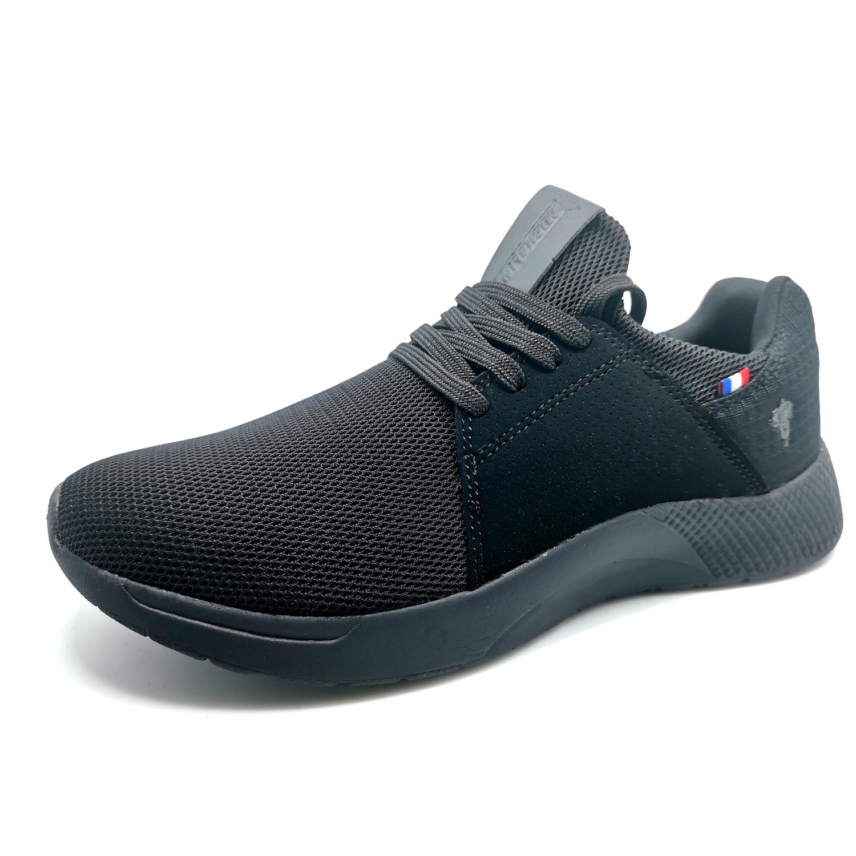 Zapatillas de Hombre Michelin Footwear Country Rock Negro-Negro