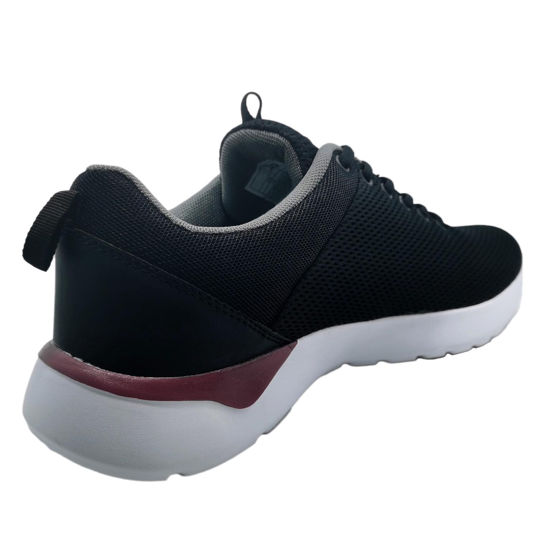Zapatillas de Hombre Inspiration Pro Foam Jks Negro-Rojo