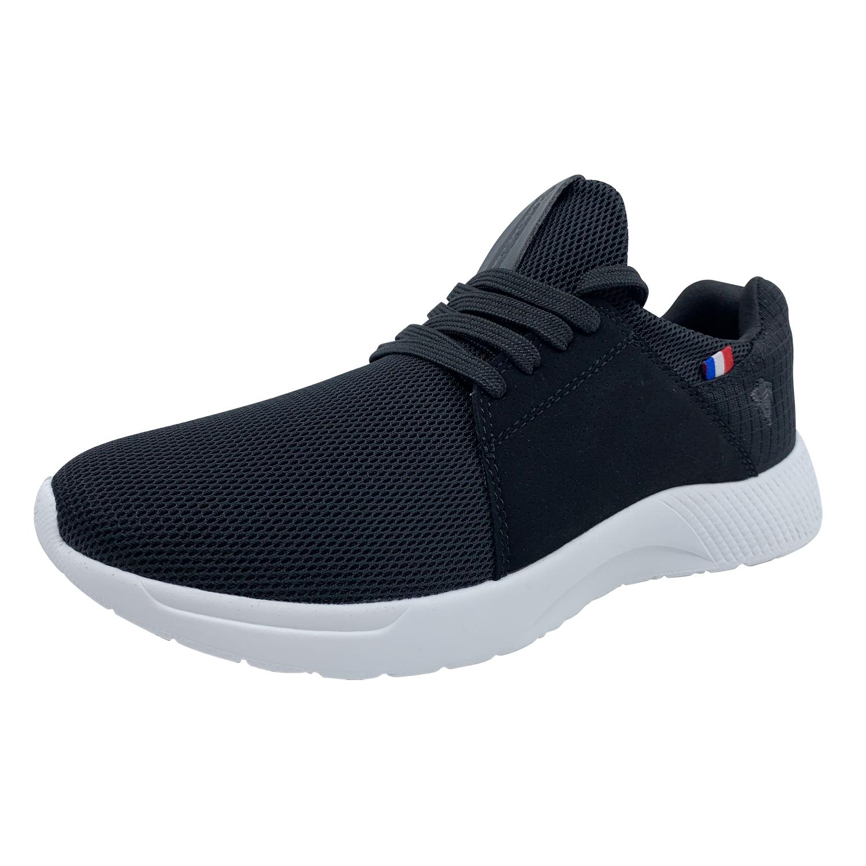 Zapatillas de Hombre Michelin Footwear Country Rock Negro-Blanco