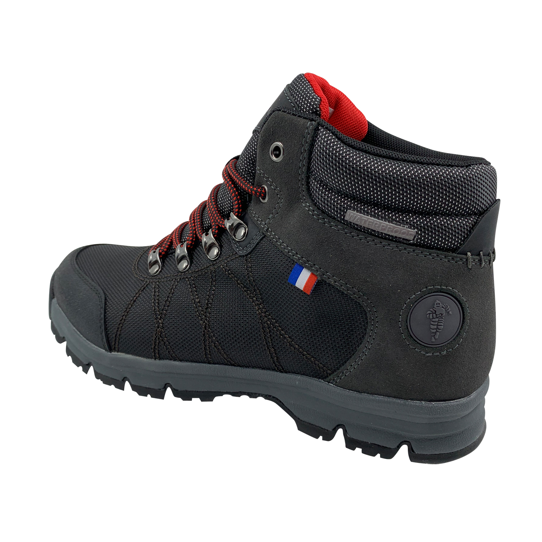Zapato de Hombre Ltx Michelin Footwear Waterproof Gris Oscuro