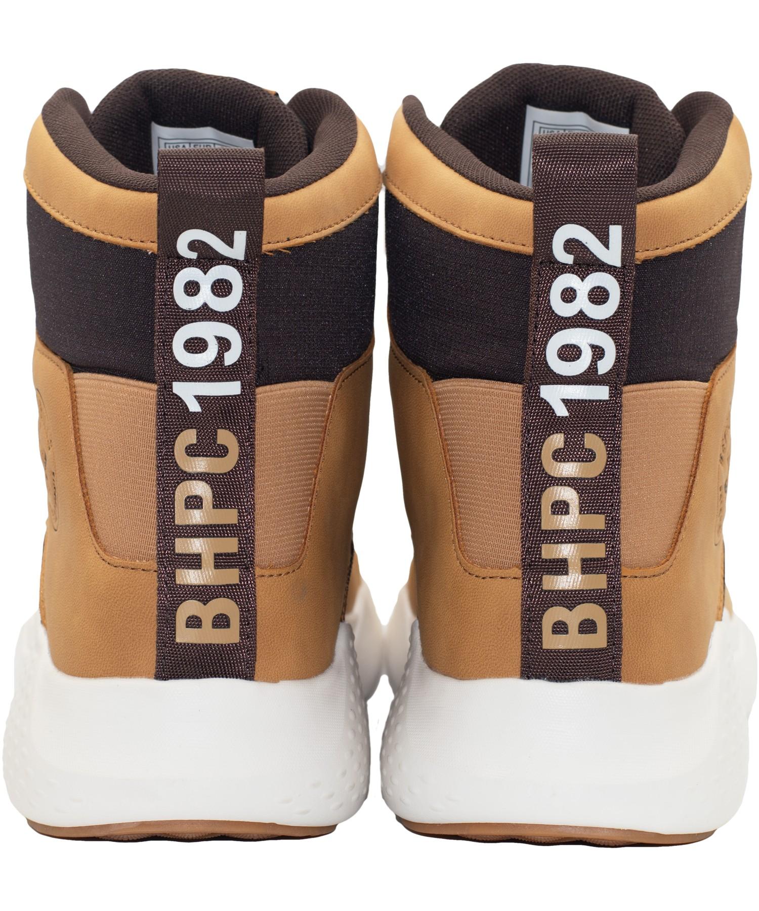 Zapatillas de Hombre Bhpc Active Caña Alta Cafe