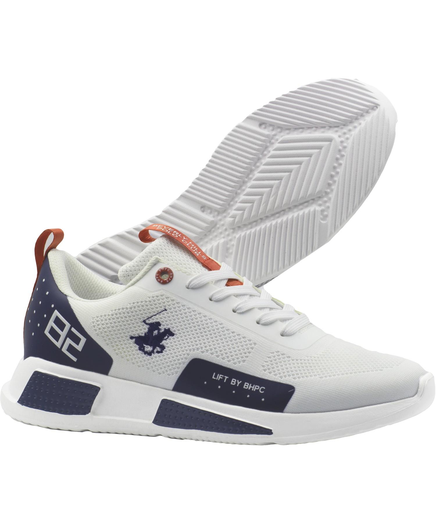 Zapatillas de Hombre Bhpc Lift Blanco-Azul