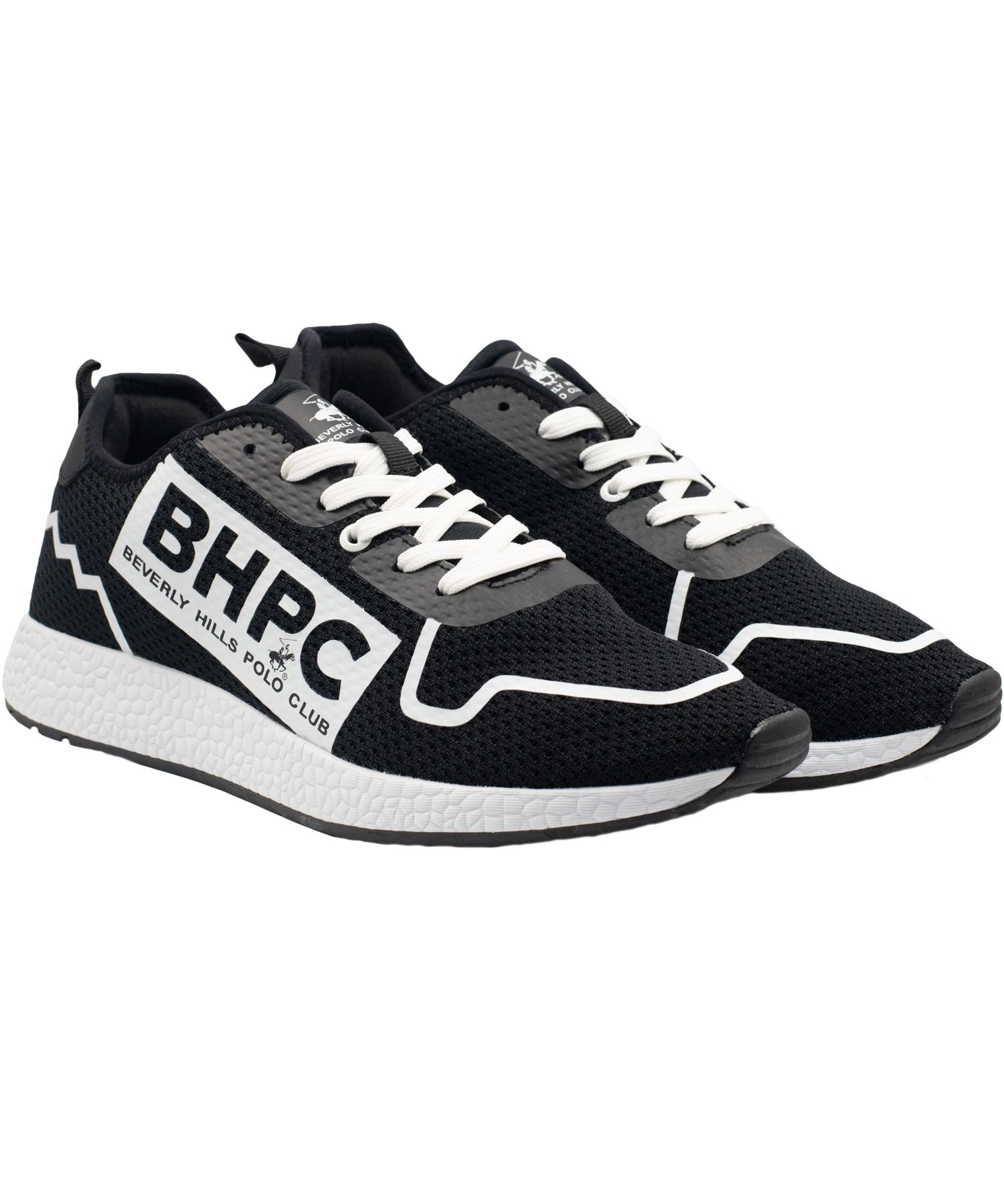 Zapatillas de Hombre Bhpc Purex  Negro-Blanco