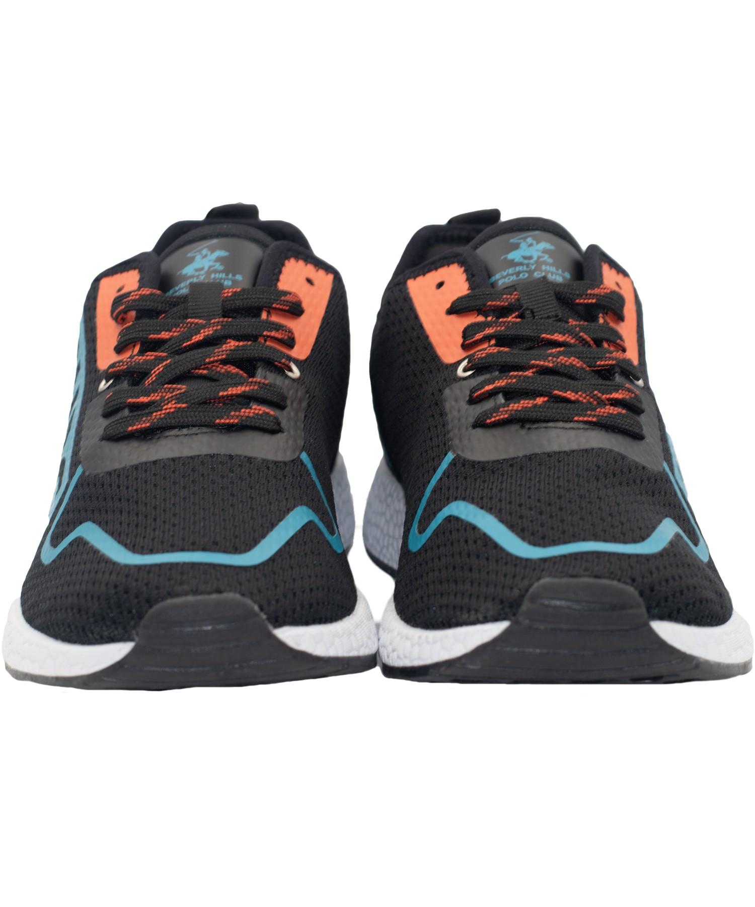 Zapatillas de Hombre Bhpc Purex  Negro-Celeste