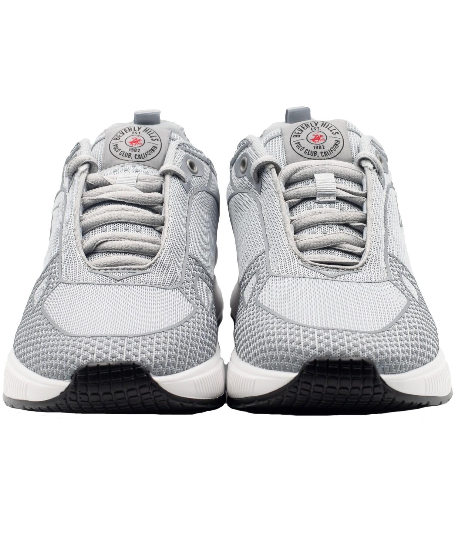 Zapatillas de Hombre Bhpc Sandos Gris-Blanco