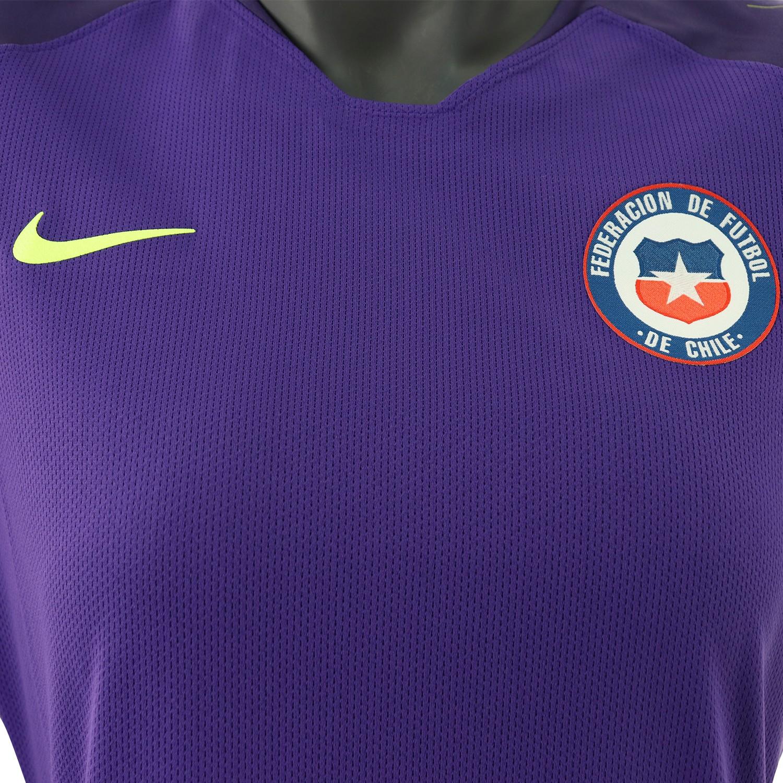 Camiseta de Arquero Mujer Nike Seleccion Chilena Morado