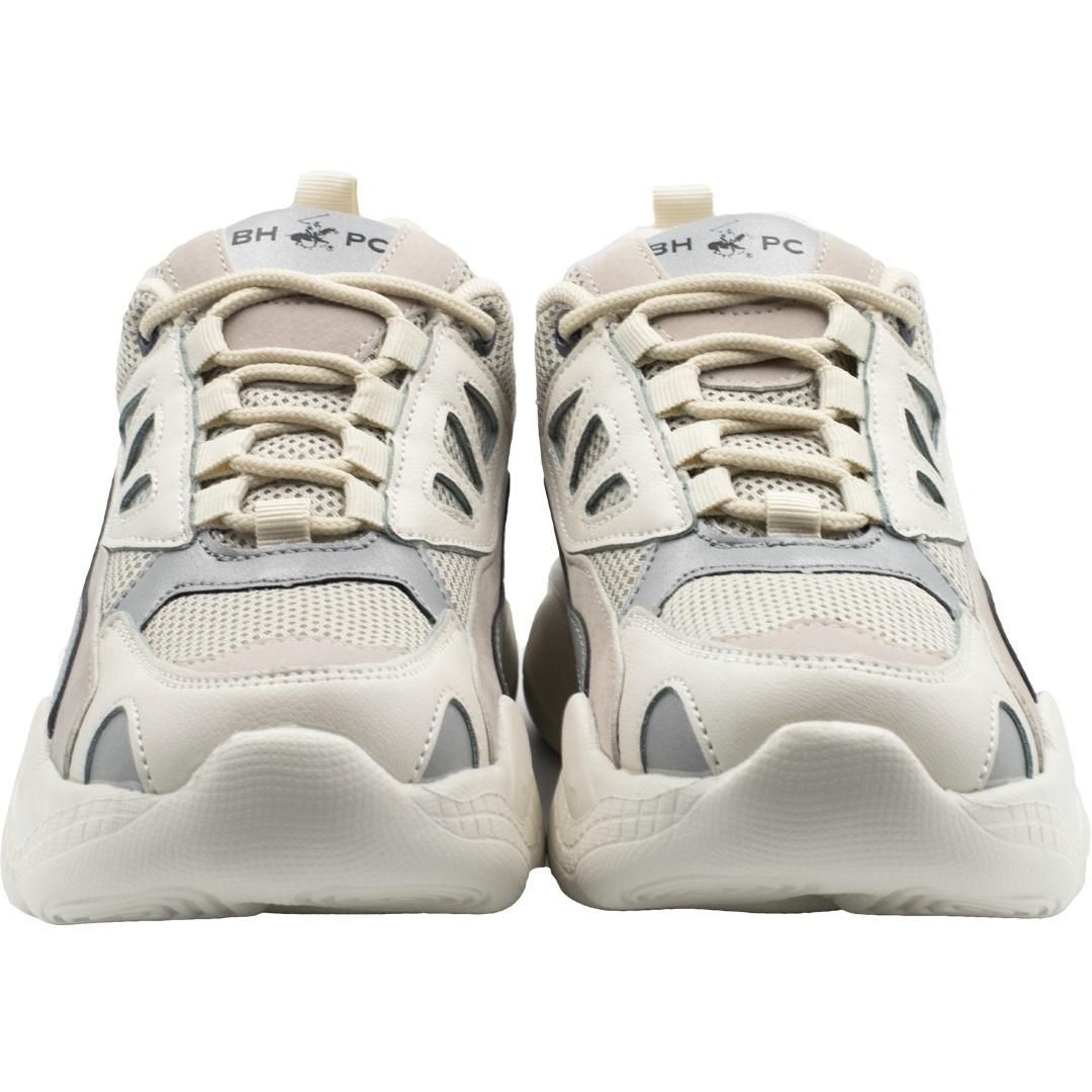 Zapatillas de Mujer Bhpc Zappa Beig-Blanco