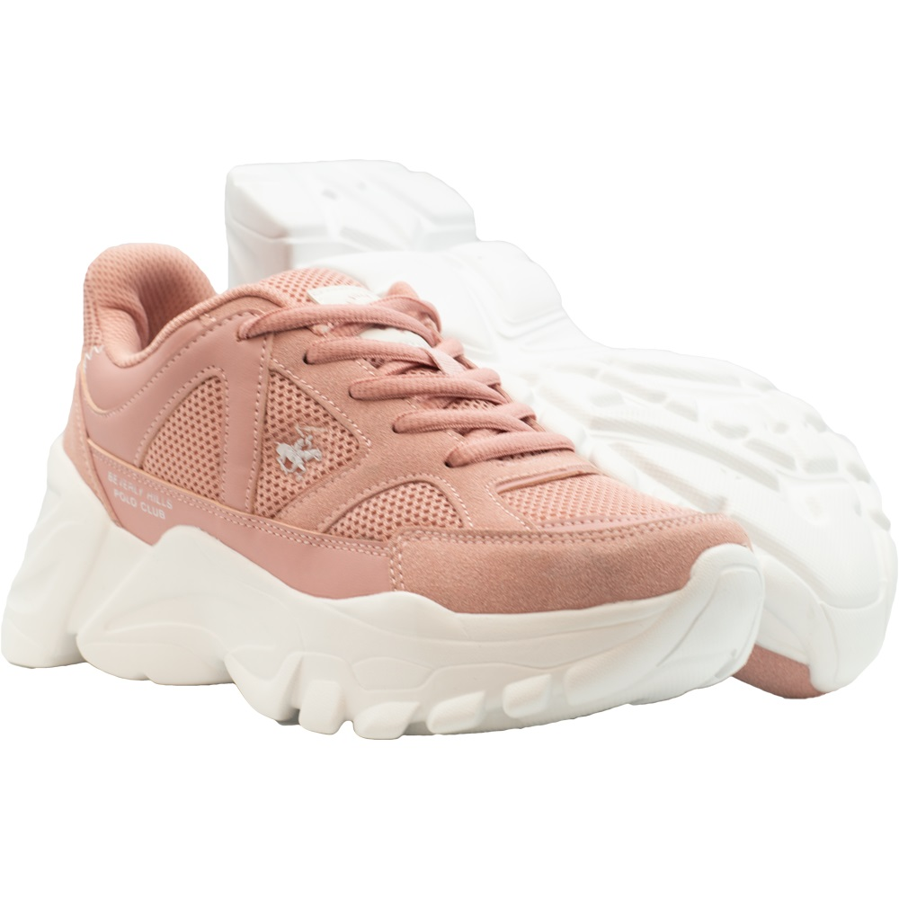 Zapatillas de Mujer Bhpc Nina Rosado-Blanco