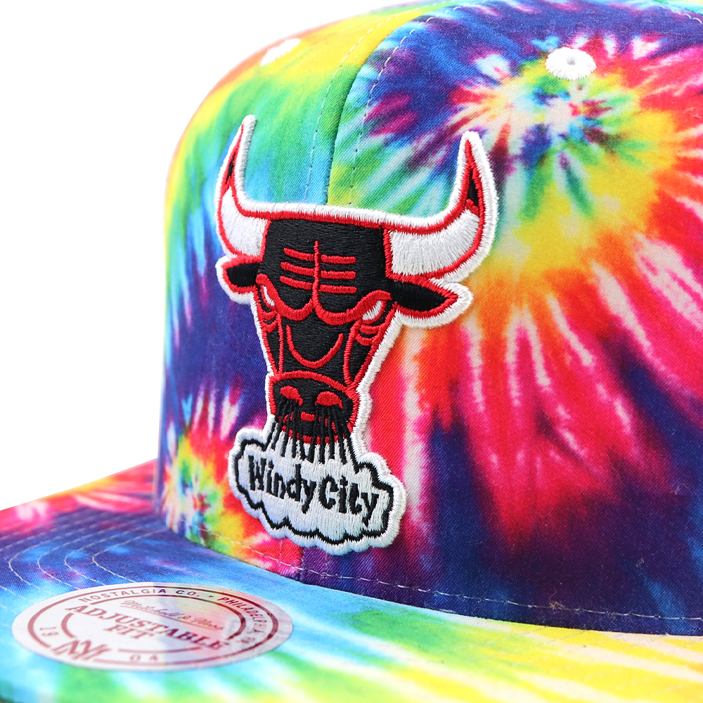 GORRO MITCHELL AND NESS CHICAGO BULLS SNAPBACK MULTI COLORS