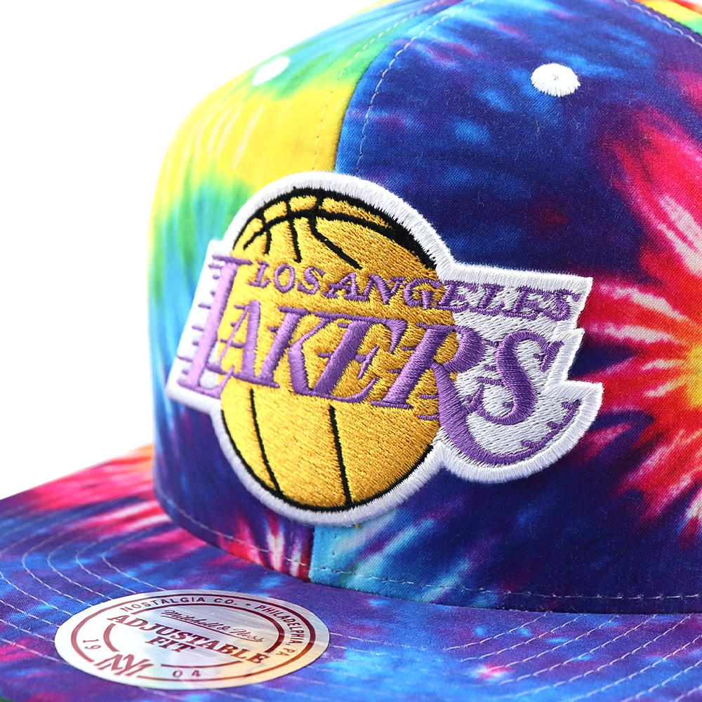 GORRO MITCHELL AND NESS  LAKERS  SNAPBACK MULTI COLORS