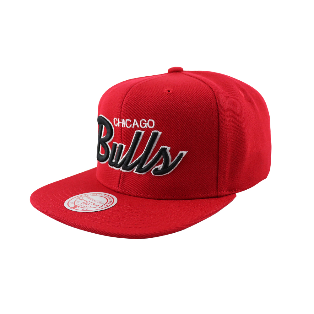 GORRO SNAPBACK CHICAGO BULLS NBA SCRIPT SNAPBACK ROJO