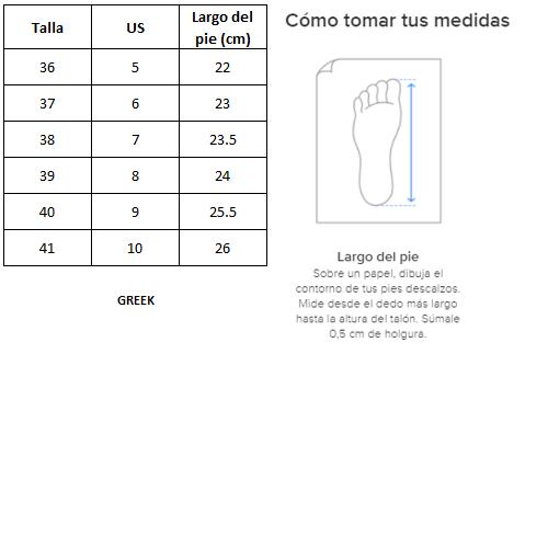 Zapatillas de Mujer 90´s Classic Greek Beige-Blanco