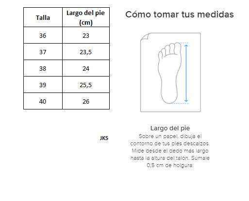 Zapatillas de Mujer Inspiration Pro Foam Jks Negro