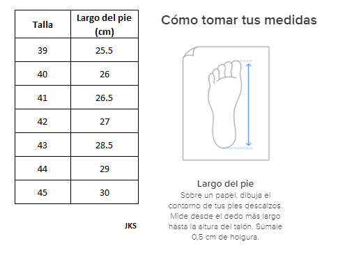 Zapatillas de Hombre Inspiration Pro Foam Jks Azul-Burdeo