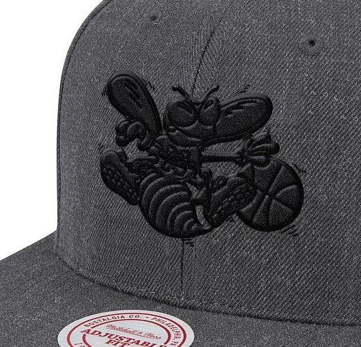 Dark Heather Wool B/B Snapback HWC