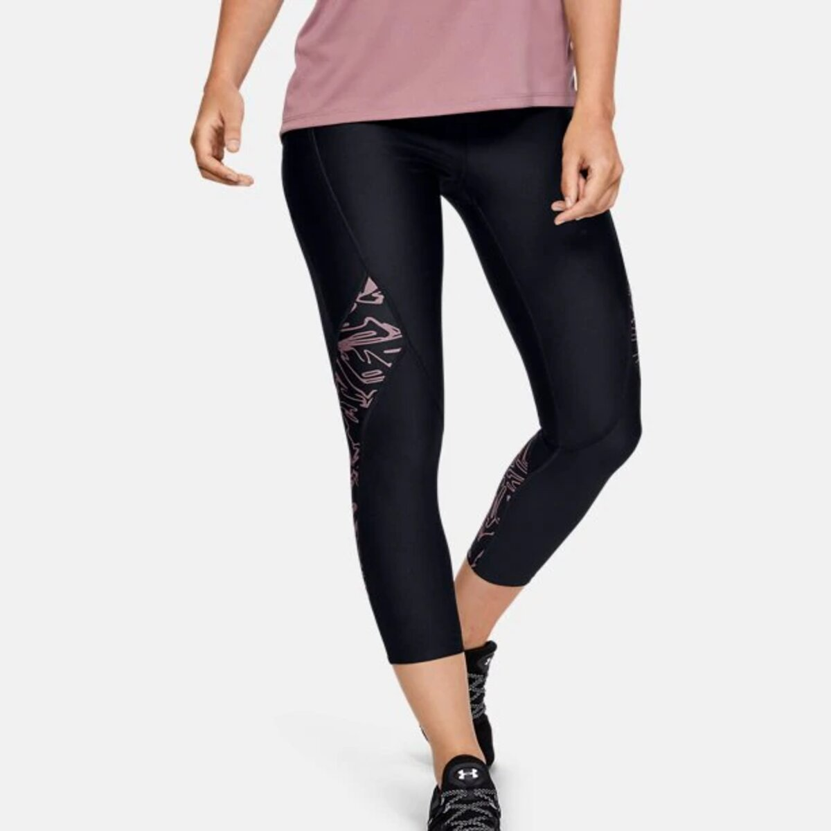 HG ARMOUR PRNT ANKLE CROP