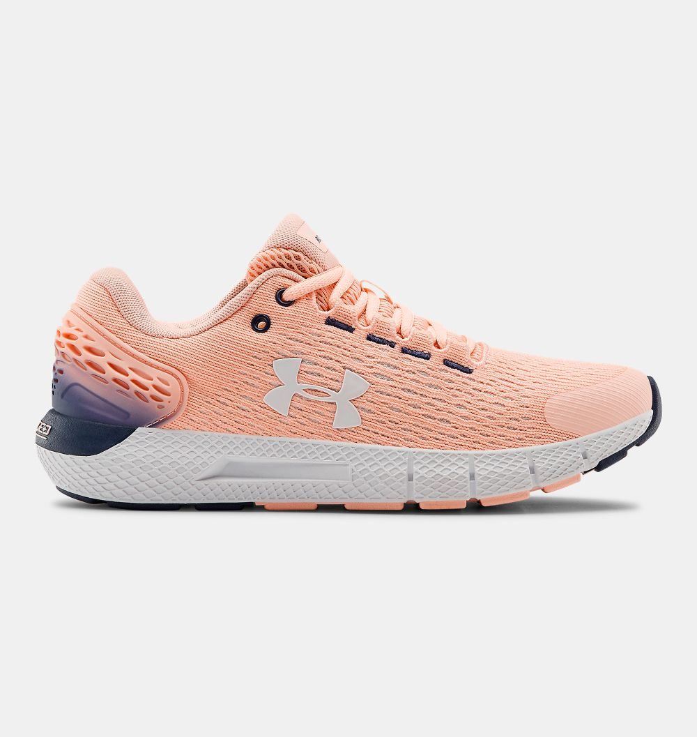 Zapatillas de Mujer Under Armour Charged Rogue 2 coral