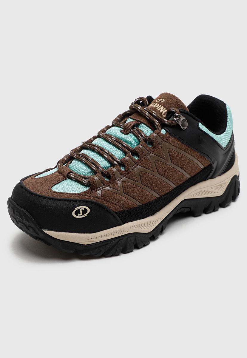 Zapatillas de Mujer Spalding Low Cut Hiking cafe