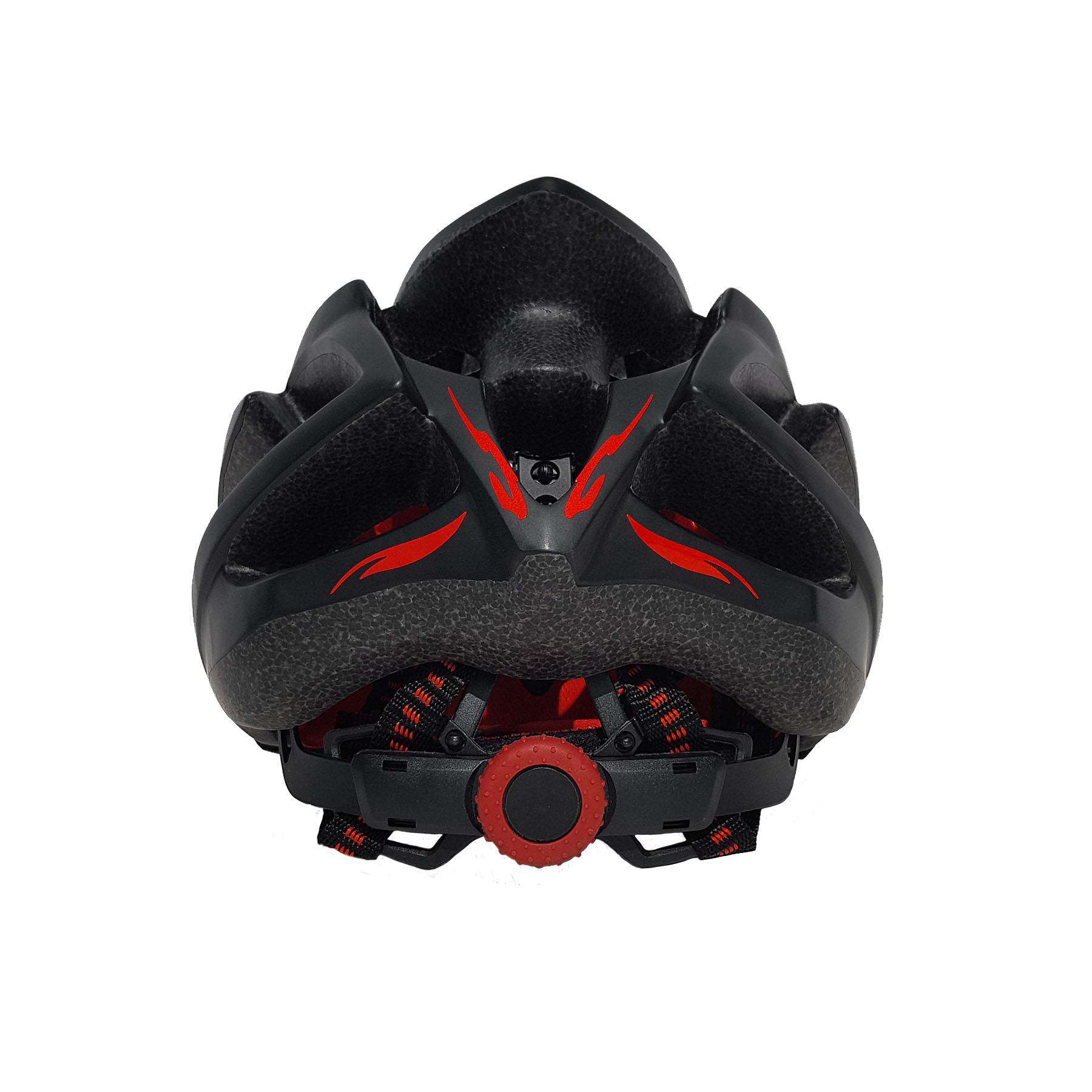 Casco Bicicleta Spitfire Flame Negro