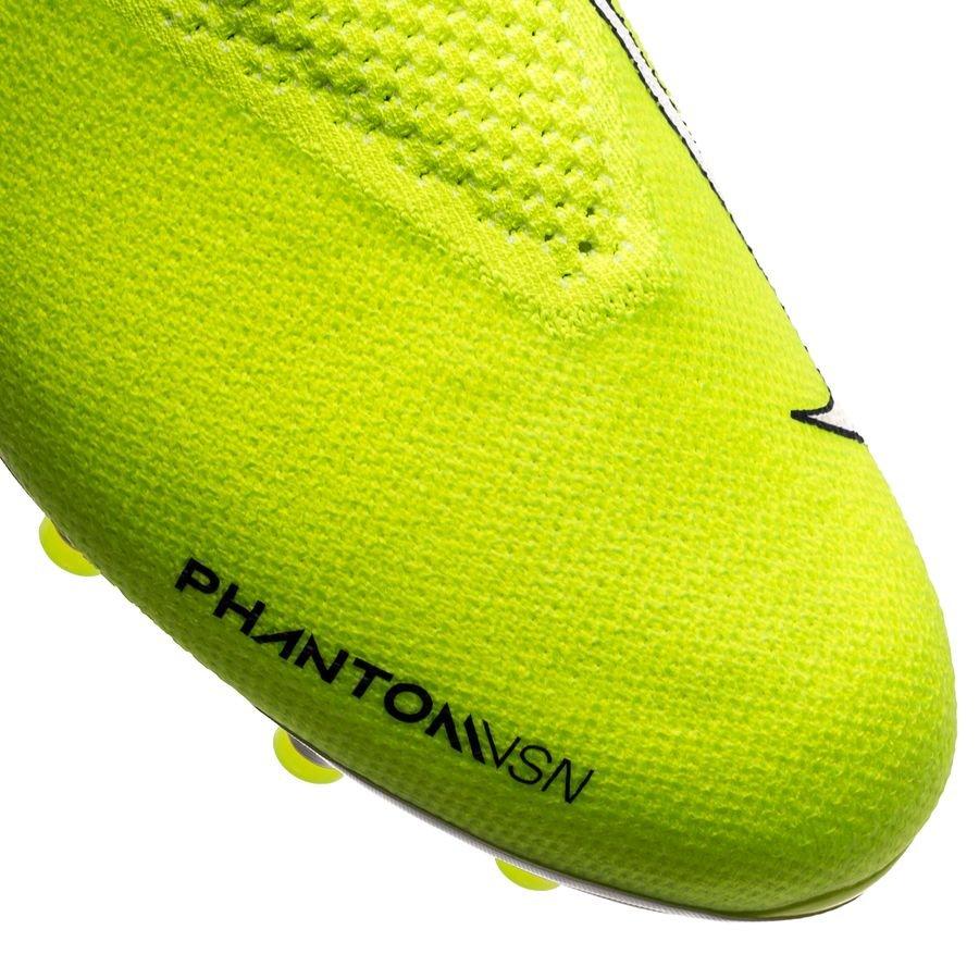 Zapatillas de Futbol para Hombre Nike Phantom Vsn Elite DF FG amarillo