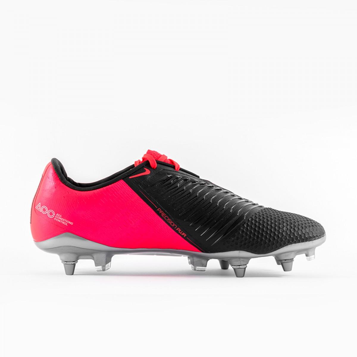 Zapatos de Futbol Profesional para Hombre Nike Phantom Venom Elite SG rojo carmesi