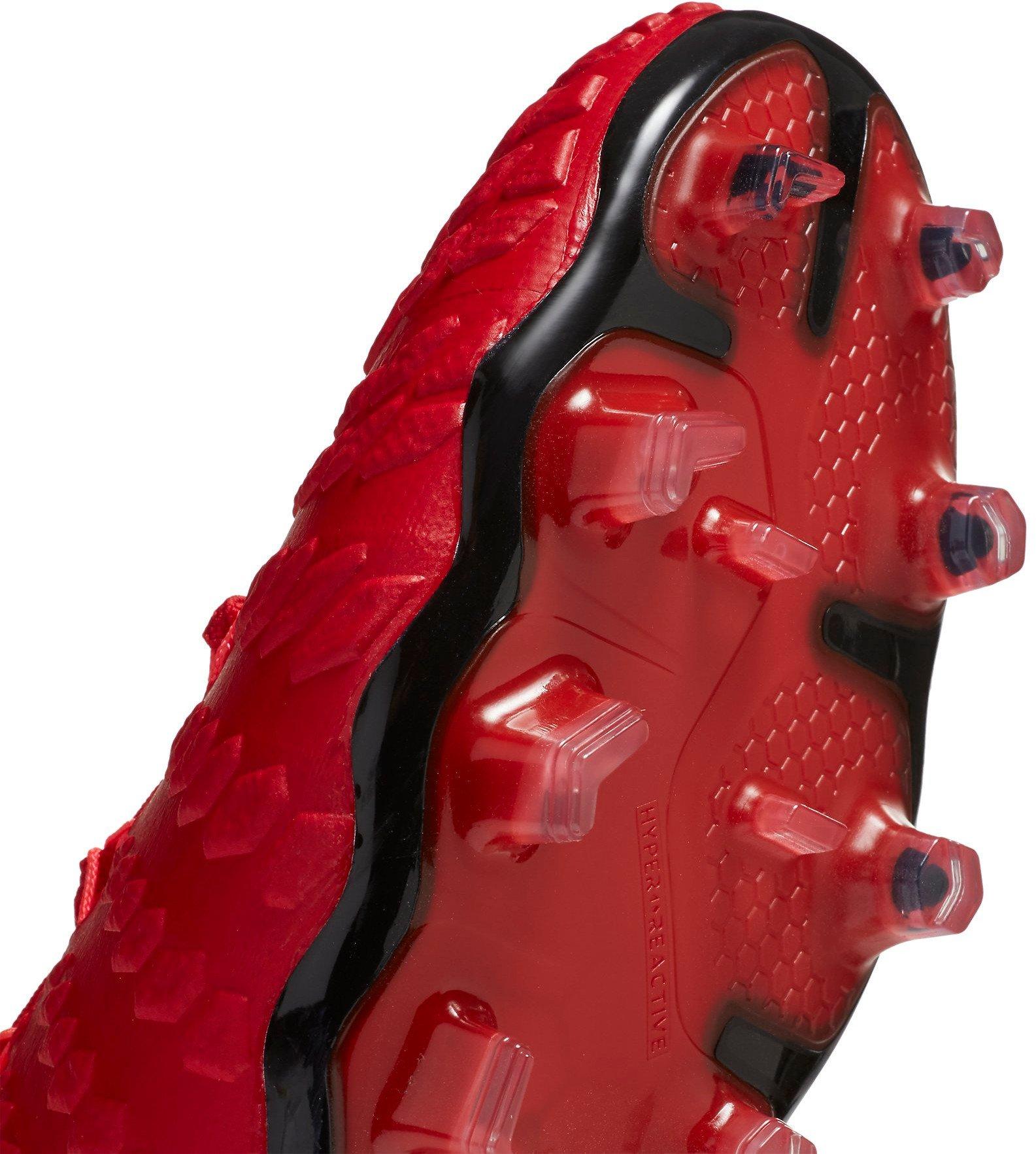 Zapatos de futbol Profesional de Hombre Nike Hypervenom Phantom III Fg rojo