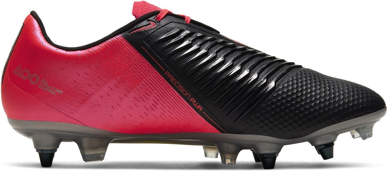 Zapatos de Futbol Profesionales Phantom Venom Elite SG-PRO AC rojo carmesi